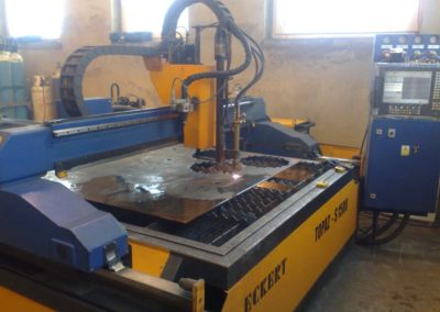Maszyna Eckert TOPAZ S 1500 obróbka skrawaniem